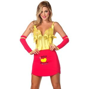 Yandy LIMITED EDITION Sexy French Fries Costume M